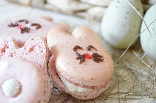 Osterhasen Macarons
