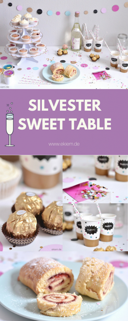 NEW YEARS EVE SWEET TABLE