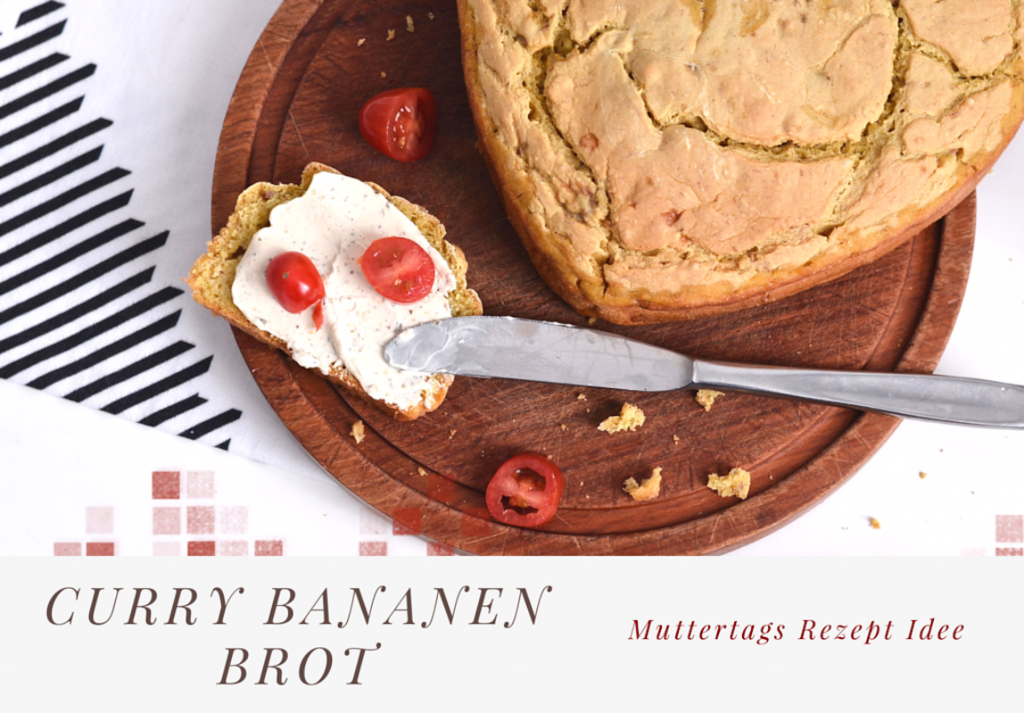 Curry Bananen Brot