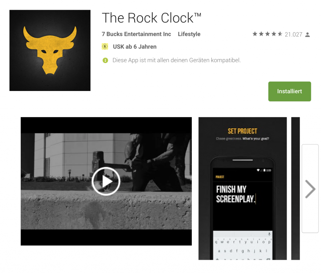 The Rock Clock - Review