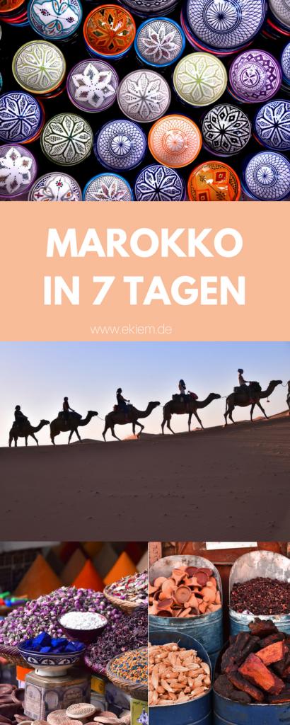 Meine erste Pauschalreise - nach Marokko